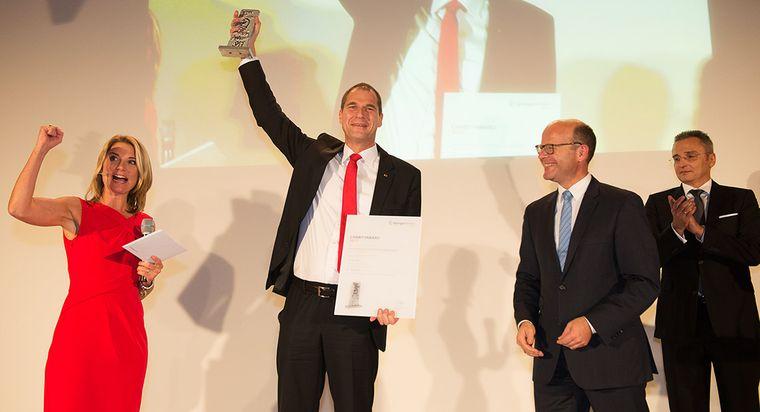 2017: 1. Platz, Springer Medizin Charity Award